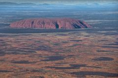 Australian Outback Aerial Royalty Free Stock Image