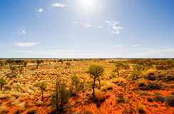 Australian Outback Landscape Stock Photos