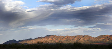 Australian Outback Panorama Stock Photo