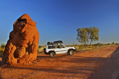Australian Outback, rather large anthill Stock Photography