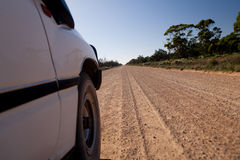 Australian outback road Stock Images