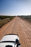 Australian outback road Stock Photos