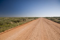 Australian outback road Royalty Free Stock Photo