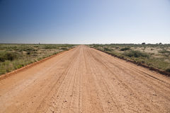 Australian outback road Royalty Free Stock Images