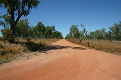 Australian Outback Road, Queensland Royalty Free Stock Image