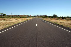 Australian Outback Road, Queensland Stock Photo