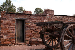 Australian Outback Stone Building Royalty Free Stock Photography