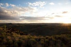 Australian Outback Sunset - Pilbara - Australia Royalty Free Stock Image
