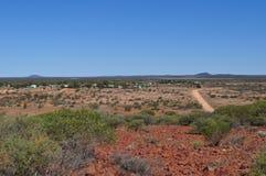 Australian outback town Stock Photos