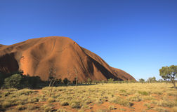 Australian outback. A view of the beautiful Australian outback with a blue sky Stock Photo
