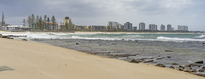 Australian panorama Sunshine Coast seafront Royalty Free Stock Image
