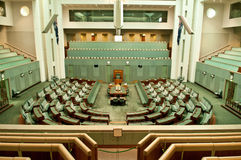 The Australian Parliament Stock Photos