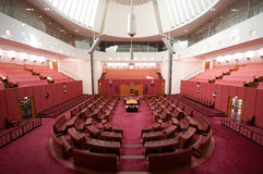 Australian Parliament Royalty Free Stock Photo
