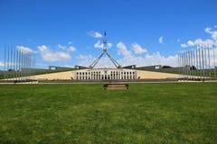 Australian Parliament Building, Canberra, Australian Capital Territory, Australia.  royalty free stock photos
