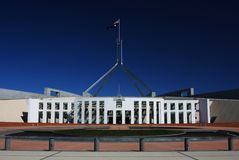 Australian Parliament House in Canberra Stock Images