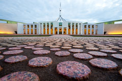 Australian Parliament House in Canberra Stock Photography