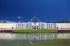 Australian Parliament House in Canberra Stock Photos