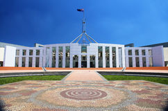 Australian Parliament House in Canberra Royalty Free Stock Photo
