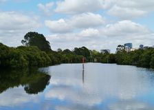 The Australian Parramatta river Royalty Free Stock Photo