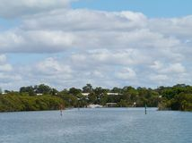 The Australian Parramatta river Royalty Free Stock Photos