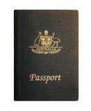 Australian Passport Stock Photos