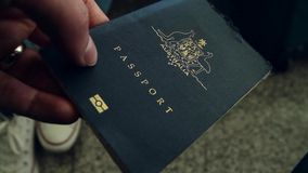 Australian passport Royalty Free Stock Photo