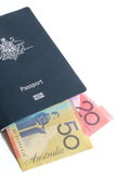Australian Passport Royalty Free Stock Photography