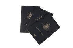 Australian passports Stock Image