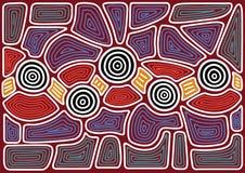 Australian pattern royalty free illustration
