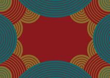 Australian pattern stock illustration