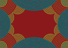 Australian pattern Royalty Free Stock Image