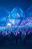 Australian Pink Floyd show Stock Photo