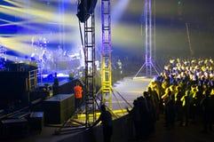 Australian Pink Floyd show Royalty Free Stock Image