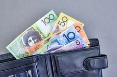 Australian Play Money Royalty Free Stock Images