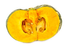 Australian pumpkin cut in half Stock Photography
