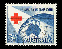 Australian Red Cross Royalty Free Stock Photos