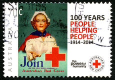 Australian Red Cross Postage Stamp Stock Photography