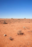 Australian red desert Stock Photo