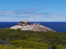 The Australian remarkable rock Stock Image