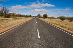 Australian road Stock Image