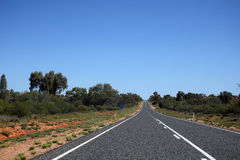Australian road Royalty Free Stock Photos