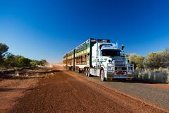 Australian Road Train Stock Photos