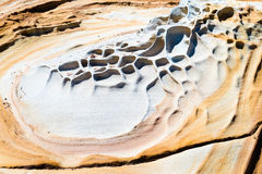 Australian rock formation background, sandstone texture Royalty Free Stock Photo