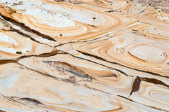 Australian rock formation background, sandstone texture Royalty Free Stock Photography