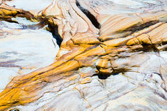 Australian rock formation background, sandstone texture Royalty Free Stock Image