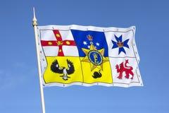 Australian Royal Flag Royalty Free Stock Image