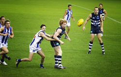 Australian Rules football Stock Photography