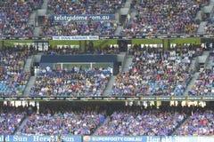 Australian rules football Royalty Free Stock Photos