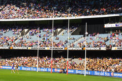 Australian rules football Royalty Free Stock Image