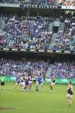Australian rules football Royalty Free Stock Photo